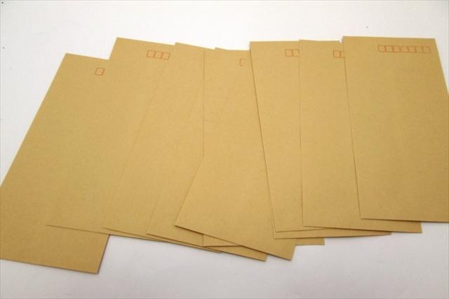 長形封筒と角形封筒について